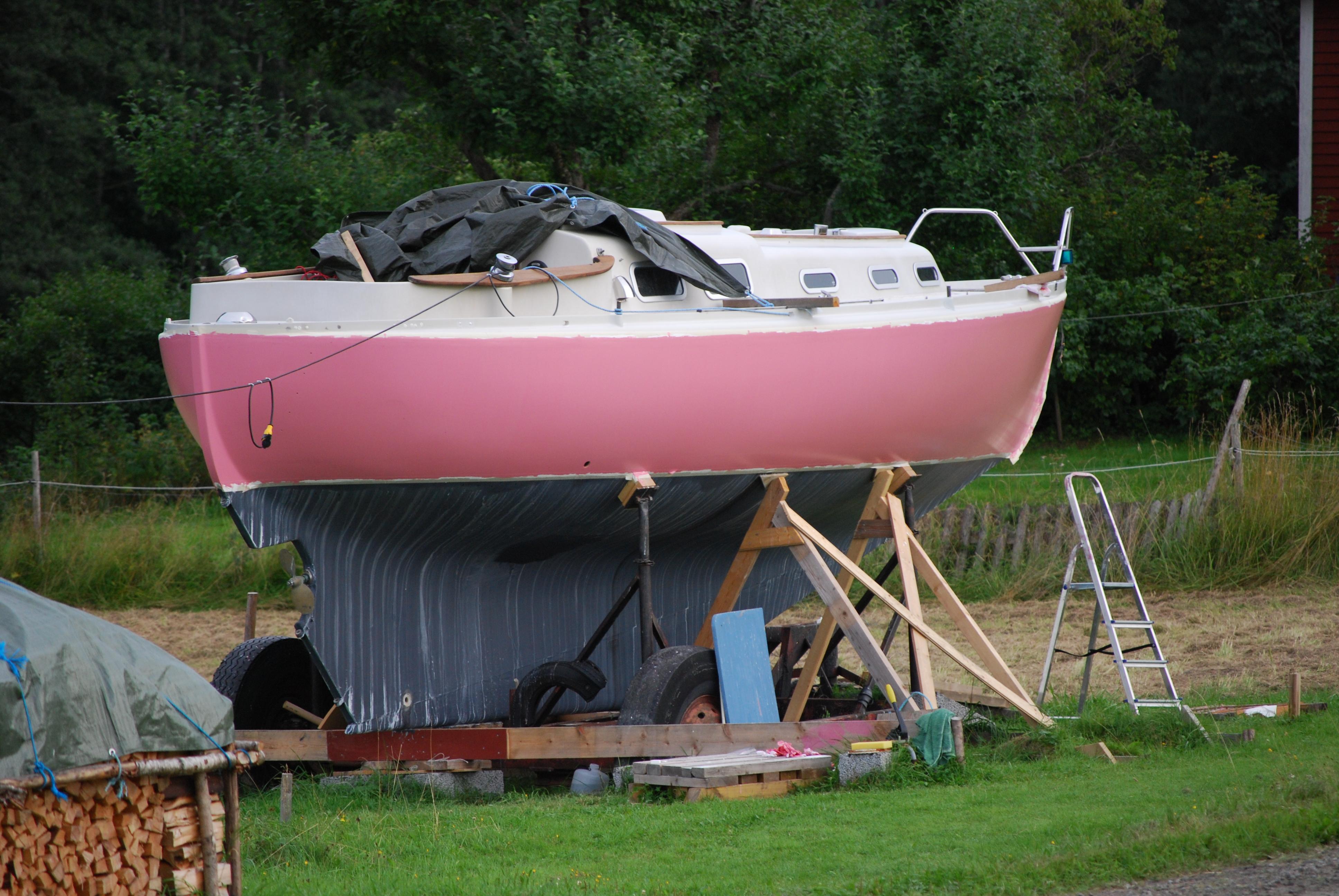 lackfärg till båt